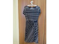 Laura Ashley Stripe Dress UK Size 14