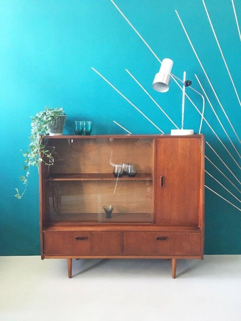 Mid Century Vintage Cabinet Sideboard Teak | in Newcastle, Tyne and ...