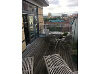 2 Bed, 2 Bath flat with roof terrace Leeds City Centre
