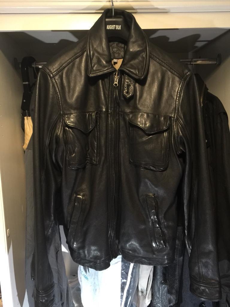 Gap men's leather Jacket