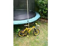 Kids bikes and free trampoline