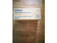 Epson Developer Cartridges / Epson Aculaser C1000/C2000 4 boxes