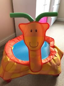 ELC Indoor Giraffe Trampoline in Excellent condition