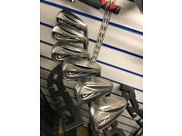 Nike slingshot irons 5-PW. Steel shafts. Good condition