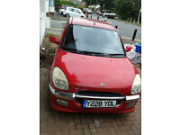 £600 Automatic Car Great Running 1.3 Sirion like Yaris TAX & MOT Low Miles TV/DVD