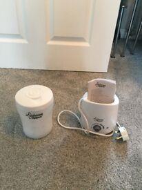 Tommee Tippee Single Bottle Steam Steriliser & Bottle/Food Warmer - NEW