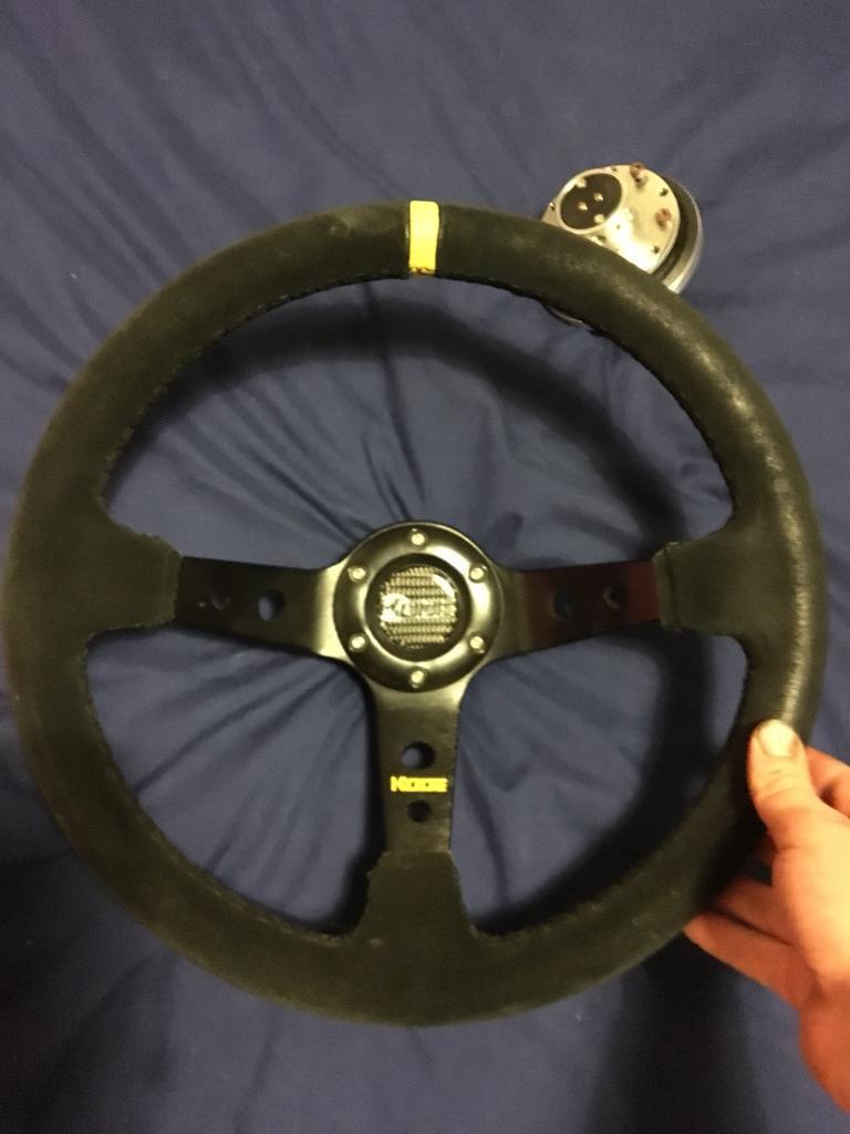 Kode deep dish steering wheel