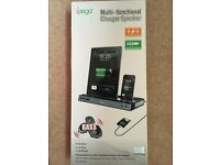 Ipod/ Ipad/Iphone 4 charger and speaker - BRAND NEW