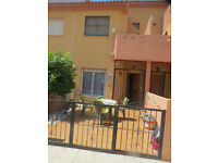 Beautifully maintained 3 bed 2 bathroomTown House in Spain wih stunning pool magificent sea views