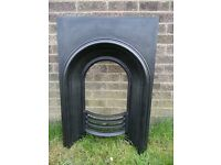 Stunning Reclaimed Vintage Cast Iron Bedroom Fire Insert Uk Delivery