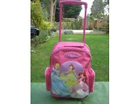 Child's Disney Princess Pink Suitcase