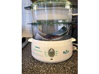Brand new - Tefal steamer aquatimer