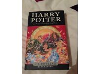 Harry Potter and the Deathly Hallows book *Mint Condition*