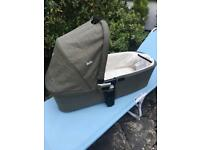 Joie carrycot, taupe colour, as new