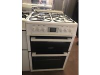 60CM WHITE LEISURE GAS COOKER