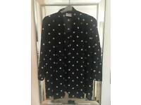 Spotted jacket/ cardigan uk 12