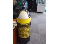 15l diving cylinder or dive tank