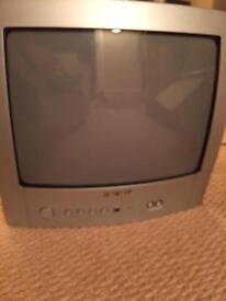 Bush 14 inch TV with remote control