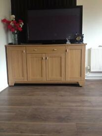 Large Wood Sideboard