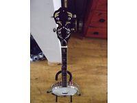 Japanese 5 string banjo