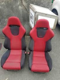 Honda civic ep3 type r premier edition facelift recaro bucket seats in good condition
