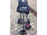 Trojan 250 Sport Electric golf trolley