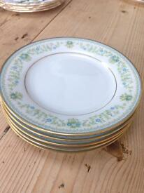 Contemporary Fine China by Noritake in Sri Lanka Spring Meadow 2484 Tea/Side Plates