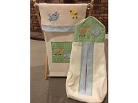 Kids Line Farm Nappy Stacker and Laundry / Toy Basket