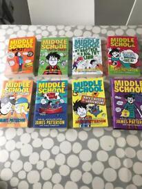 8 Middle School Books