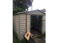 Metal shed 6x8