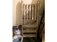 Small wooden ladders