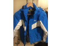 Trespass Kids Ski Jacket - Excellent Condition boys jacket 13-14 yrs