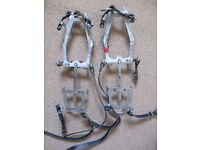 SALEWA adjustable crampons, Made in Germany