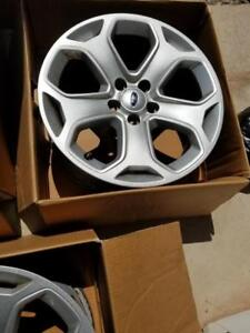 FORD EDGE OEM FACTORY 18 INCH ALLOY WHEELS IN EXCELLENT CONDITION.NO SENSORS