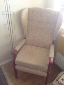 2 ARMCHAIRS FOR SALE - LUXURIOUS READING CHAIRS EACH ONO