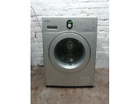 Samsung WF8502NGS 6kg 1200 Spin Silver LCD Washing Machine 1 YEAR GUARANTEE FREE FITTING