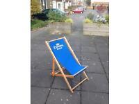 Corona deck chairs large x 4