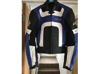 Nearly new RST ladies motorbike 2 piece leathers