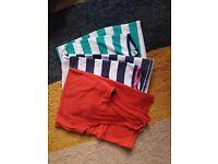 Selection of 3 maternity vests (size 12)