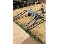 Towing dolly frame