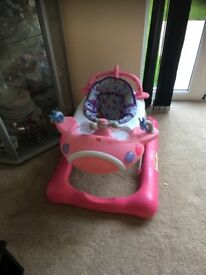 Pink baby walker for sale , in good condition & local pick up only.Please contact 07957088770