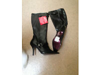 Women's size 6 Morgan knee high boots BRAND NEW WITH LABELS