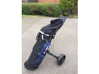 Mens Ben Sayers Full Golf Clubs Set/ Good Condition R/Hand with Trolley