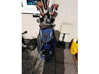Full set Taylor Made golf clubs
