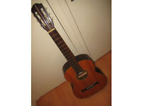 Vintage made in Japan classical guitar