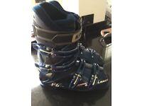 Lange f6 ski boots like new