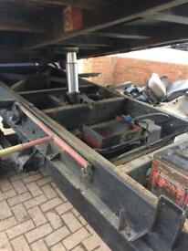 Ford transit tipper body ram an pump