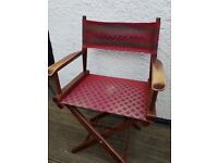 Antique directors chair