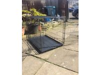 Large and medium dog cages