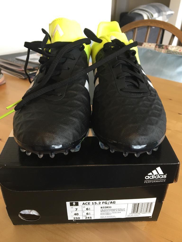 Adidas Ace 15.2 FG Boots UK Size 6